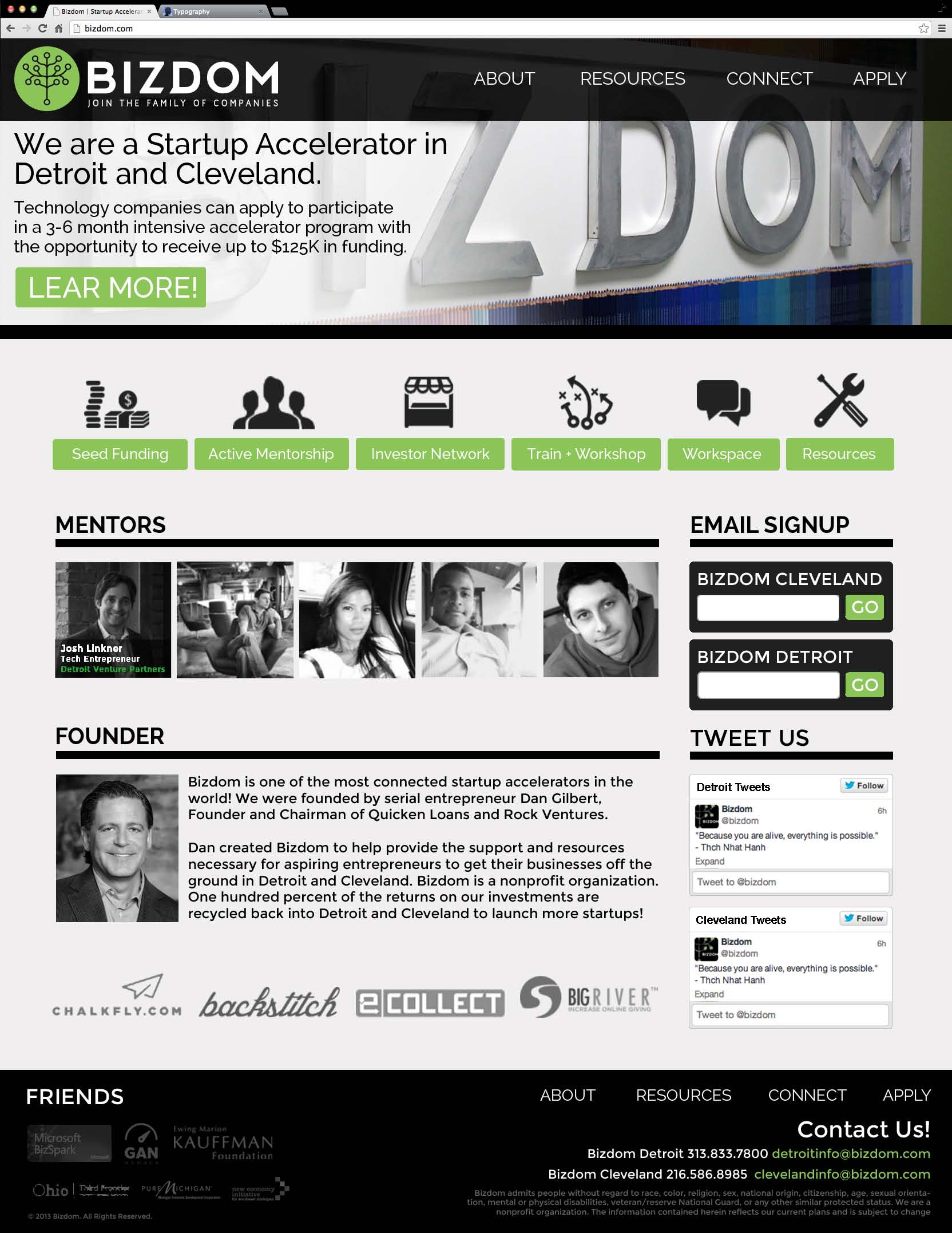 bizdom-home-mockup-page